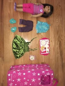 American Girl Doll, backpack carrier, outfits, accessories