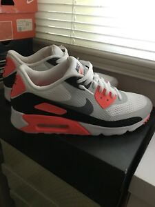 """Nike Air Max 90 Ultra Essential """"Infrared"""" / Size 10"""
