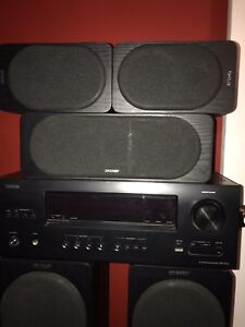 Denon Receiver and Energy Speakers