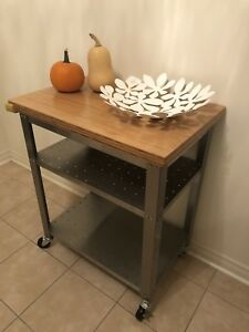 Kitchen island prep table, really good condition