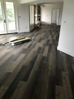 Hardwood And Vinyl plank Installation!