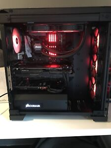 Pc gaming asus strix 1080ti oc