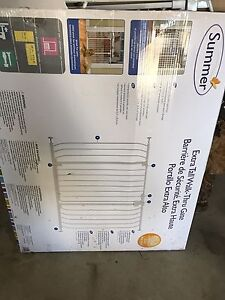Extra tall and wide baby gate new