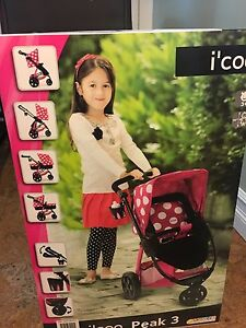 i'coo stroller bassinet stroller (new/never opened)