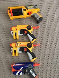 Nerf Tiger Electronics Lazer Tag Blast Gun Phoenix LTX Gold