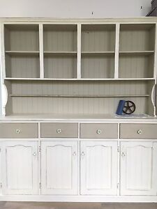 Chalk painted buffet and hutch Jamberoo Kiama Area Preview