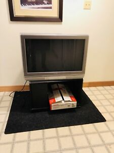 Large Family TV and TV stand
