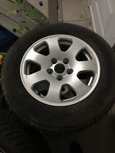 Winter Tires and Rims AUDI 205/65R 15