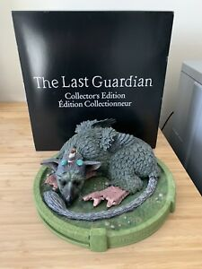 The Last Guardian Trico statue from Collectors Edition