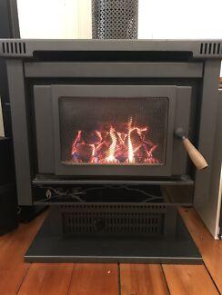 Gas log fire heater Kensington Melbourne City Preview
