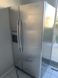 Whirlpool Stainless Steel Fridge with water dispenser