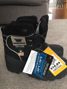 Winter safety boots