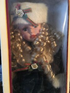 New! Genuine Porcelain Collectible Doll