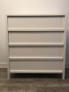 Commode blanche Ikea