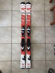 Rossingol skis with Nordica bots.
