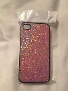 Pink sparkle iPhone 4, 4s case
