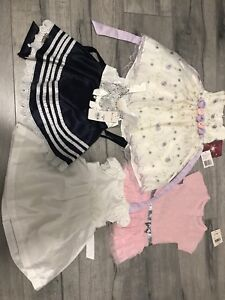 Baby girl dresses brand new with tags