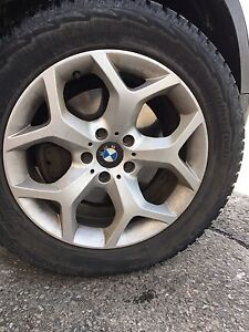 Tires and rims BMW X5