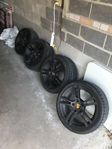 18inch Cayman or Boxter Winter Tire and Wheel package