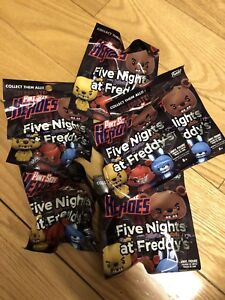 Selling five nights at Freddy's pint size heroes blind bags