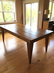 7ft custom Dining Table for sale