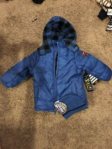 Boys winter Jacket and Touque