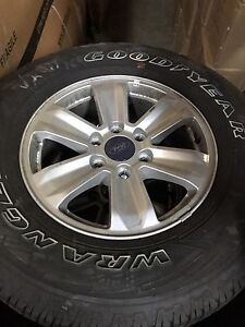BRAND NEW FORD F150 RIMS AND TIRE