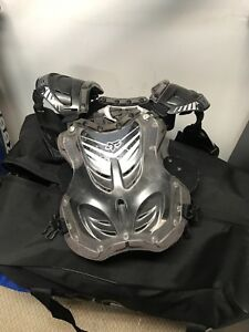 Fox chest protector and Thor jersey