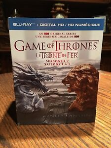 Game of thrones 1-7 blu Ray (Reduced Price)