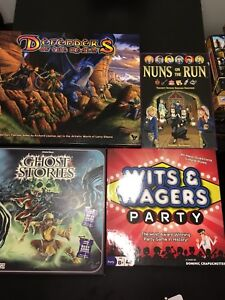 Assortment of board games (updated prices)