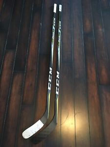 2 CCM Super Tack 2.0 Sticks 95 Flex Kane 6 Lie