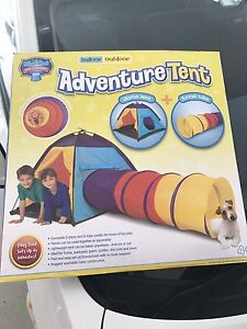Adventure tent kids play Wooloowin Brisbane North East Preview