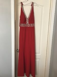 Selling red long dress / gown