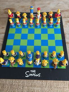 Simpsons Chess Set Watsons Bay Eastern Suburbs Preview