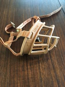 Baskerville Ultra Dog Basket Muzzle Size 6 (XL)