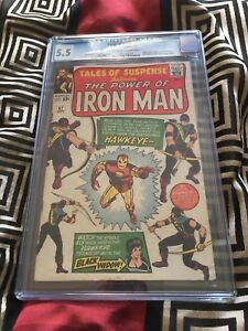 Tales of Suspense 57: First Hawkeye! CGC 5.5
