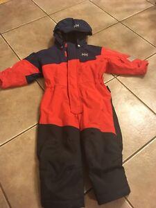 Helly Hansen children's snow suit.