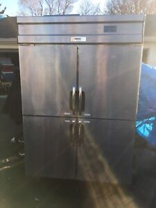 Commercial Fridge/Freezer 4 Door