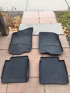 Weather tech car mats for a 2008 to 2012 Chevy Malibu