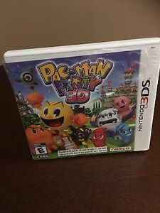 Pac Man Party 3D Nintendo 3DS Video Game
