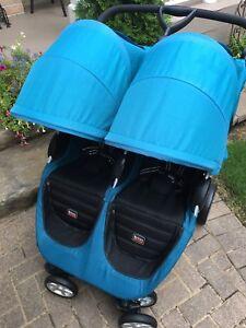 Britax side by side stroller