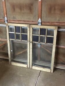Lots of old windows