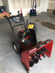 "Craftsman 26"" Dual Stage Snowblower"