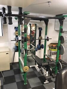 Power Rack with Small Weights