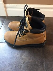 Steel Toe Boots Size 6.5 Men's 7.5 Womens