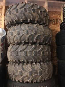Honda 300 fourtrax tires rims 4x4 bear claws