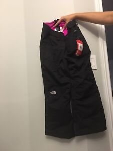 North Face adjustable snow pants, tags still on