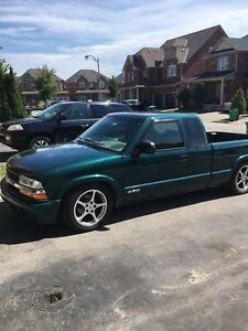 Chevrolet s10 ls swapped