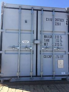 New (one trip) shipping container (sea can) 20 foot