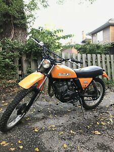 1978 Suzuki ds185 two stroke